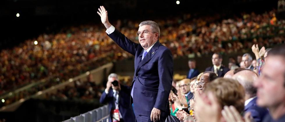 Thomas Bach, IOC, Rio