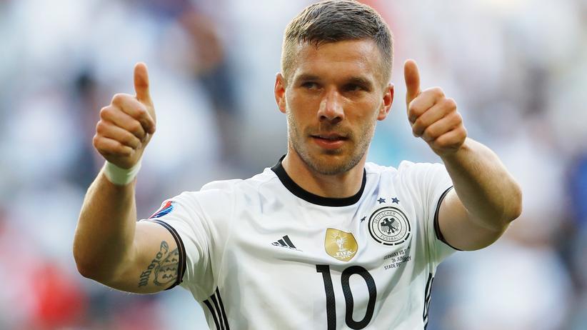 Nationalmannschaft: Lukas Podolski hört als Nationalspieler auf