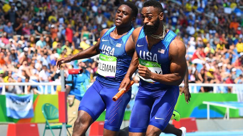 Zwei Sprinter bei Olympia in Rio