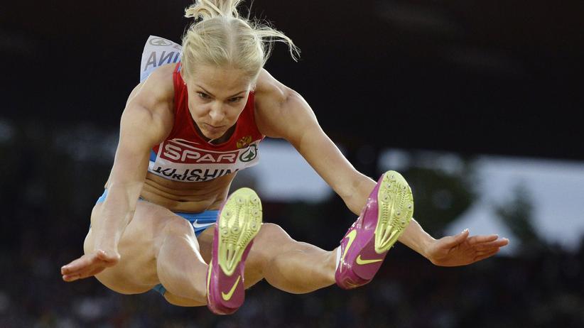 Darja Klischina : Als einzige russische Leichtathletin in Rio dabei