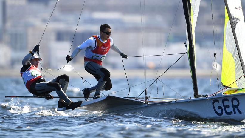 Olympia: Deutsche Segler gewinnen Bronzemedaille