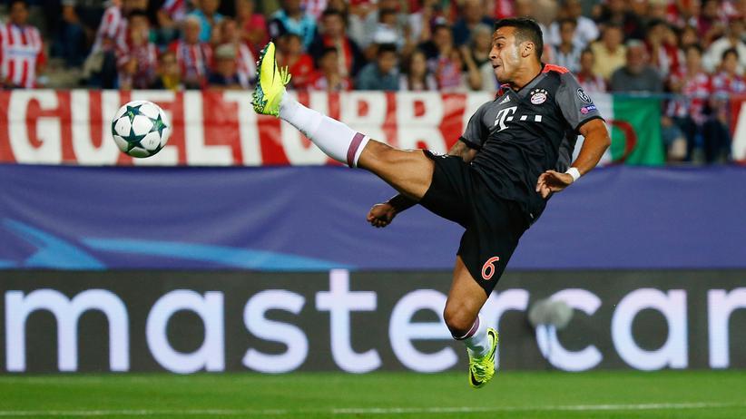 Champions League: Thiago Alcántara vom FC Bayern München