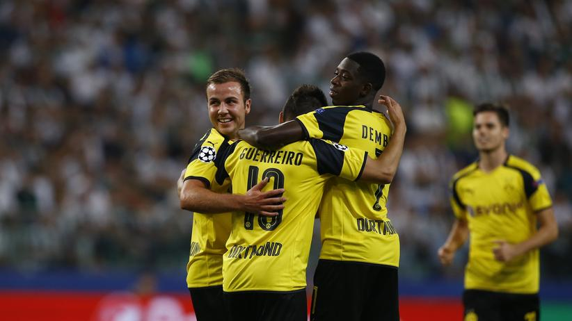 Champions League: Borussia Dortmund siegt mühelos gegen Legia Warschau