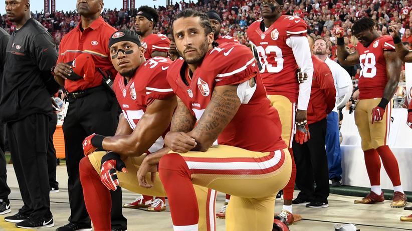 NFL-Spieler Colin Kaepernick: Echte Patrioten müssen keine Hymne singen