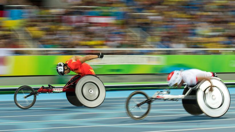 Paralympics: Was der Mund alles kann