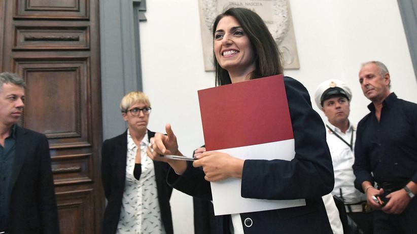 Virginia Raggi: Roms Bürgermeisterin sagt Nein zu Olympia