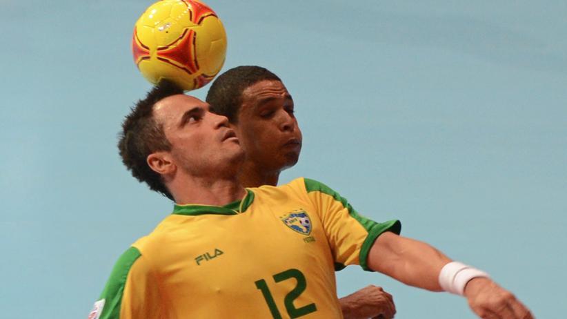 Futsal: Der Brasilianer Falcao gilt als der beste Futsal-Spieler der Welt. Deutschland hingegen startet am Wochenende mit dem ersten offiziellen Länderspiel.