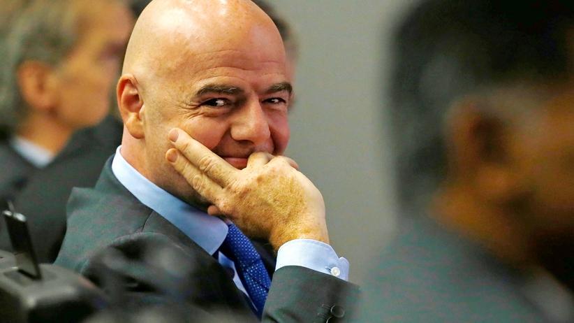 Gianni Infantino: FIFA-Präsident Gianni Infantino