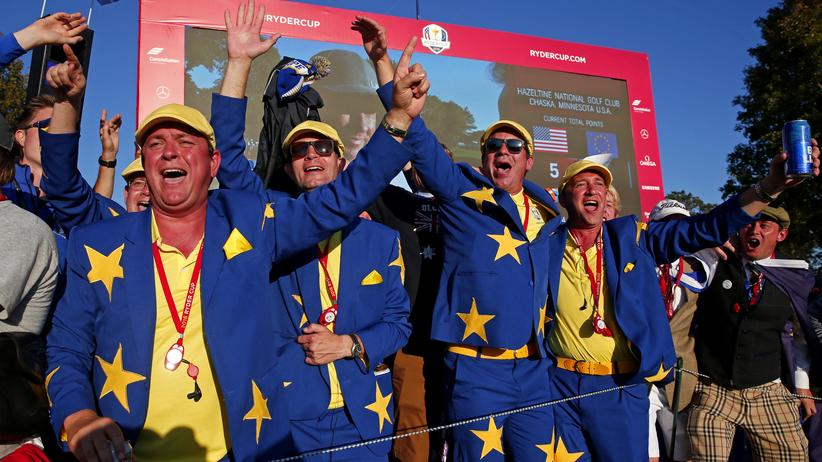 Ryder Cup: Auf geht's Europa, mach ihn rein!