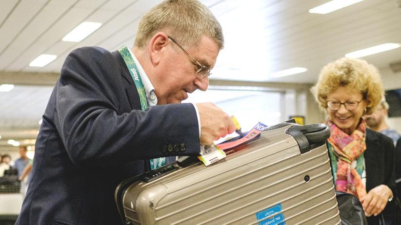 Thomas Bach IOC Diplomatenpass
