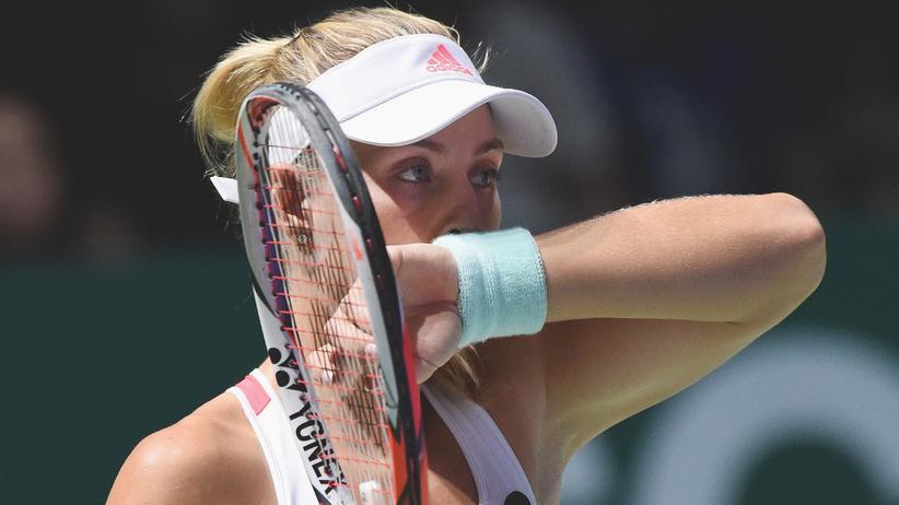WTA-Finals: Angelique Kerber verlor im Finale des WTA-Turniers gegen die Slowakin Dominika Cibulková.