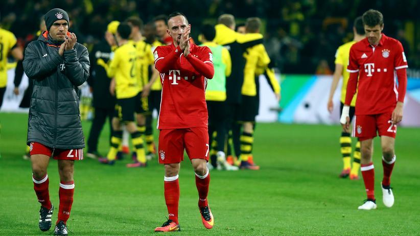 BVB – Bayern 1:0: Dortmund feiert, München verliert und ist nicht mehr Tabellenführer.