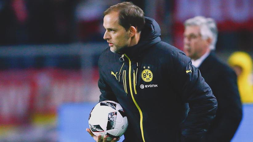 Bundesliga-Rückschau: Thomas Tuchel, Trainer von Borussia Dortmund