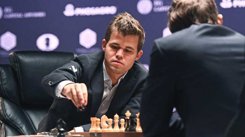 Schach-WM: Magnus Carlsen macht den Trump