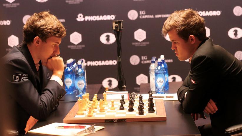 Magnus Carlsen Sergej Karjakin Schach Weltmeisterschaft