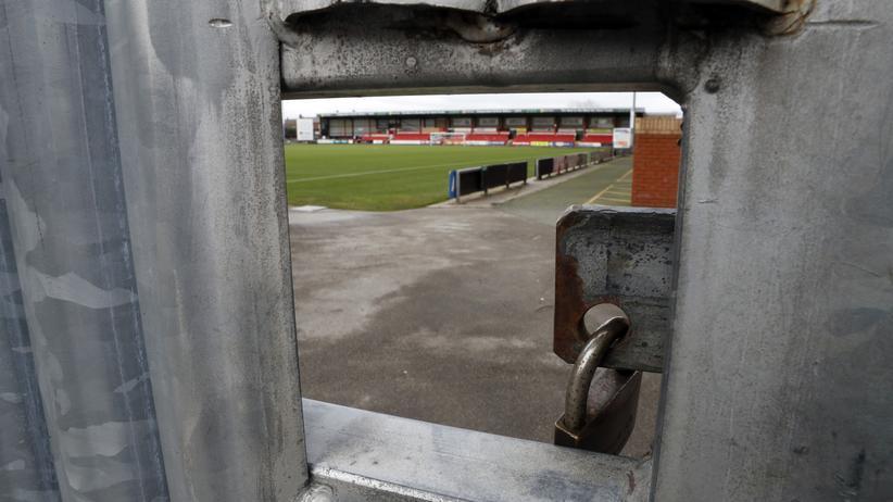 Missbrauchsskandal: Das Trainingsgelände des Fußballclubs Crewe Alexandra
