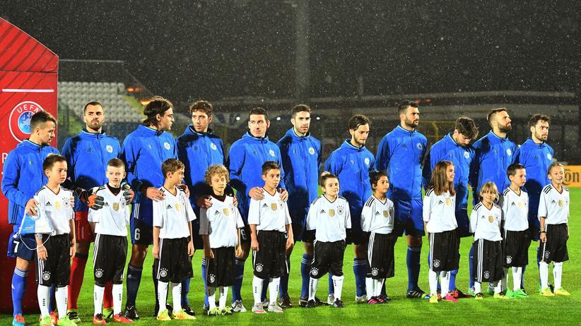 Sympathische Dauer-Verlierer: die Nationalmannschaft von San Marino. Im Schnitt brauchen sie mehr als ein Jahr für ein Tor.