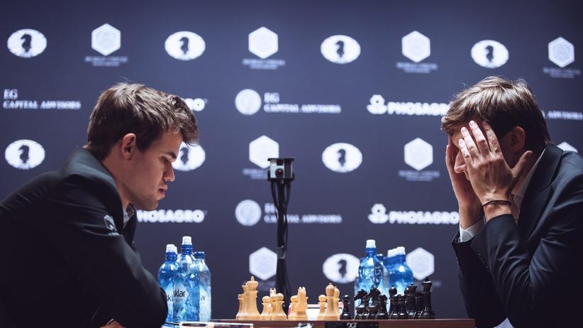 Schach-WM Sergej Karjakin Magnus Carlsen New York