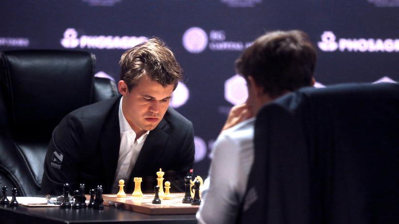 Schach-WM Magnus Carlsen Sergej Karjakin