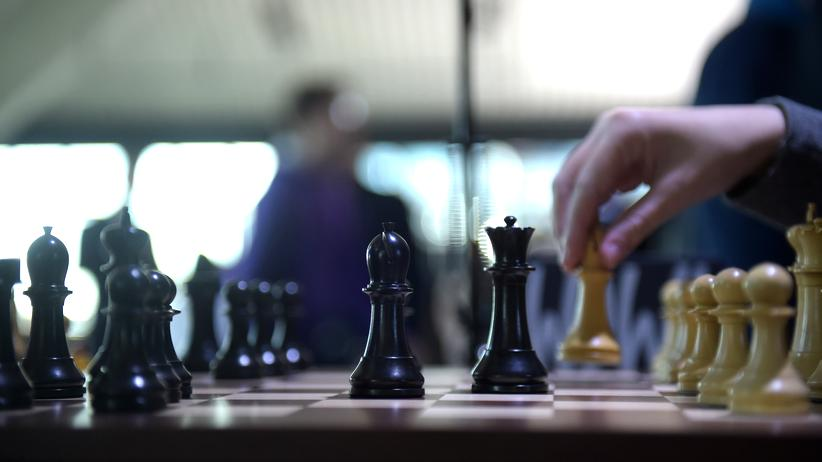 Schach-WM: Im Darkroom