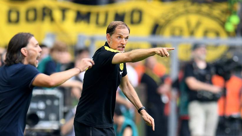 BVB-Coach Thomas Tuchel (rechts) und Martin Schmidt vom FSV Mainz 05 stehen für eine neue Trainergeneration.