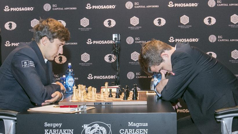 Schach-WM: Auch die zweite Runde endet mit Remis