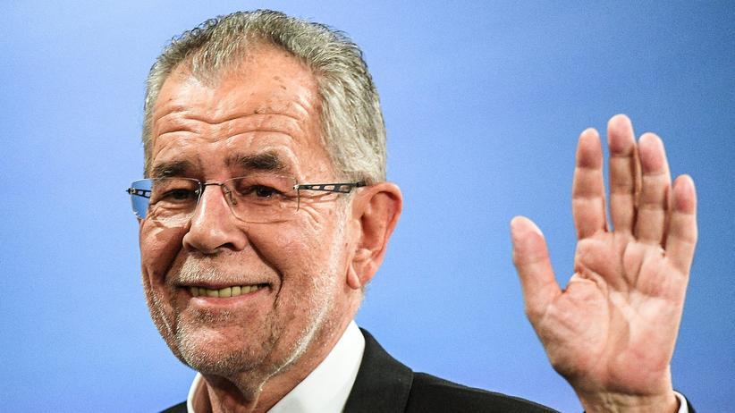 Bundespräsidentenwahl in Österreich: Der künftige Bundespräsident Österreichs, Alexander Van der Bellen