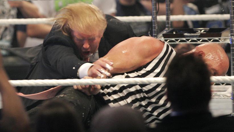 Donald Trump: Der Wrestling-Präsident
