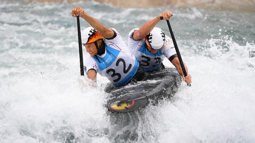Olympia-Aus für ARD und ZDF: Franz Anton und Jan Benzien bei den Olympischen Spielen in Rio de Janeiro