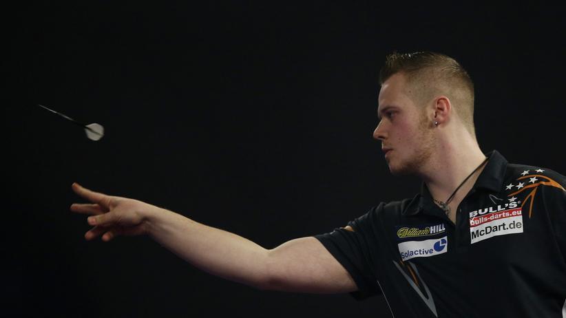 Max Hopp ist Deutschlands bester Dartspieler. Bei der WM will er in die dritte Runde kommen.