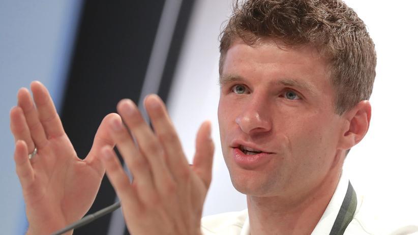 Thomas Müller während der EM in Frankreich.