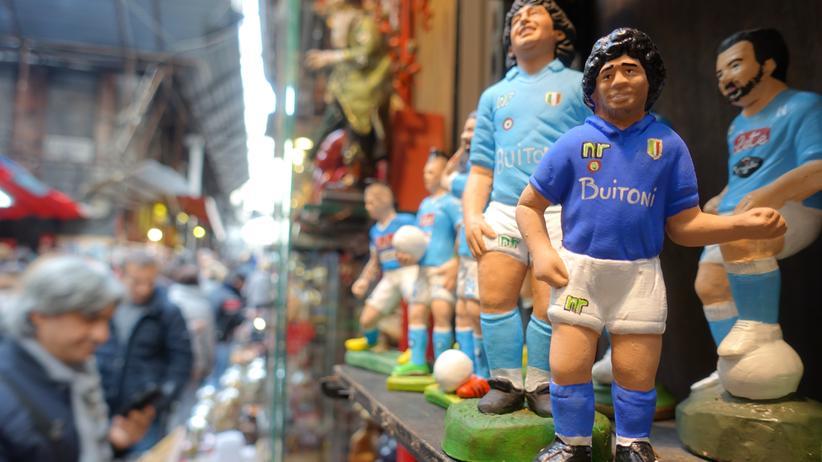 Diego Maradona: Die Stadt lebt nur für ihn