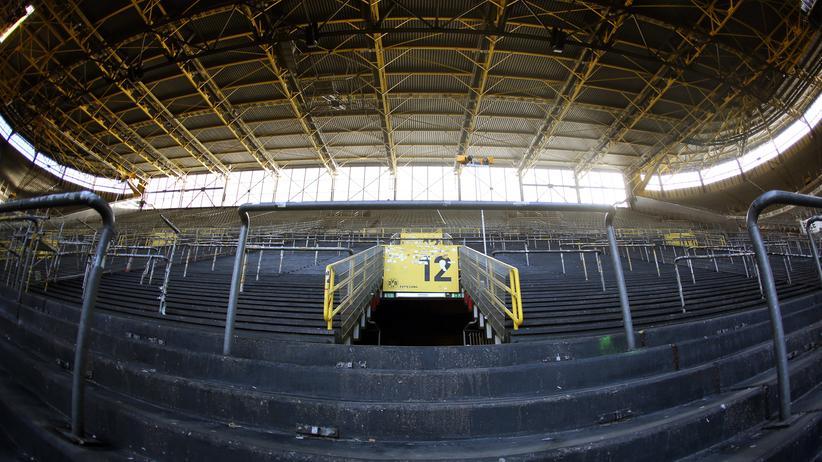 Die Dortmunder Südtribüne wird am Samstag leer bleiben.