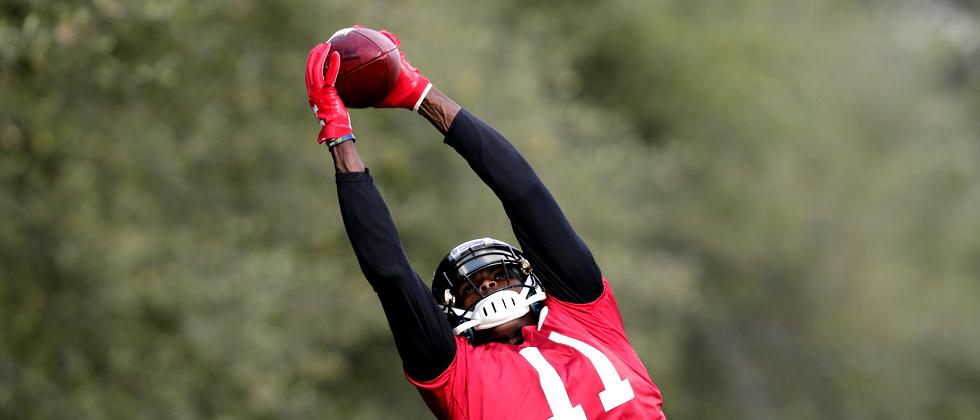 Super-Bowl Football Atlanta Falcons Training Texas