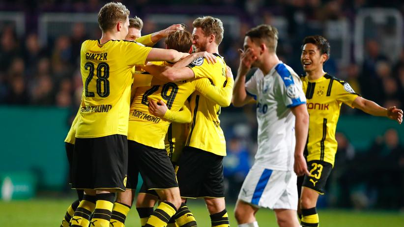 DFB-Pokal: Dortmund im Halbfinale gegen die Bayern