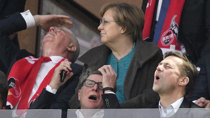 Wir schaffen das! Angela Merkel war am Dienstagabend in Köln zu Gast.