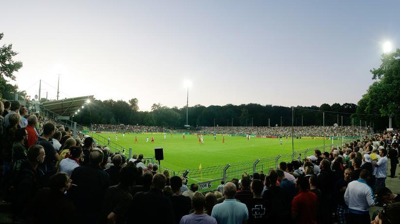 Fußball-Regionalliga: Der SV Babelsberg bei einem früheren Spiel
