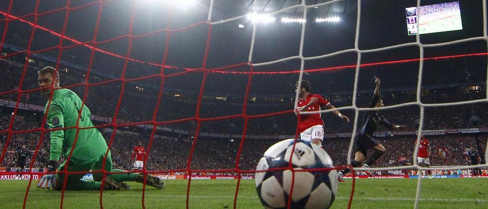 So hatten sich die Bayern das Hinspiel gegen Madrid nicht vorgestellt.