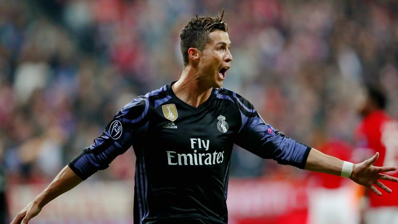 Champions League: Real Madrids Cristiano Ronaldo