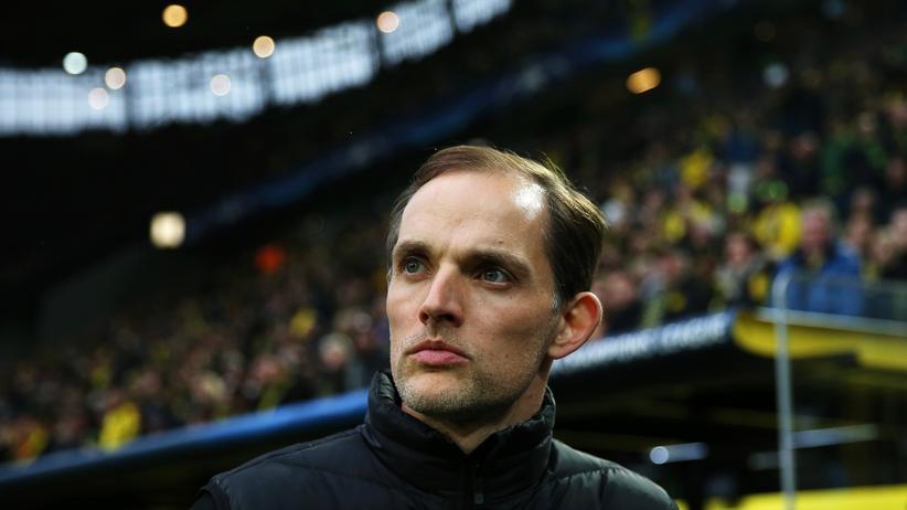 Borussia Dortmund: Dortmunds Trainer Thomas Tuchel