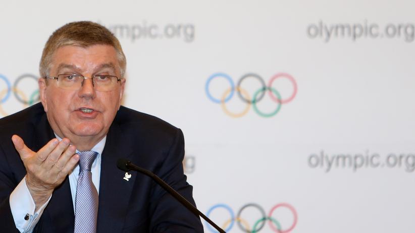 IOC-Präsident: Der Präsident des IOC, Thomas Bach