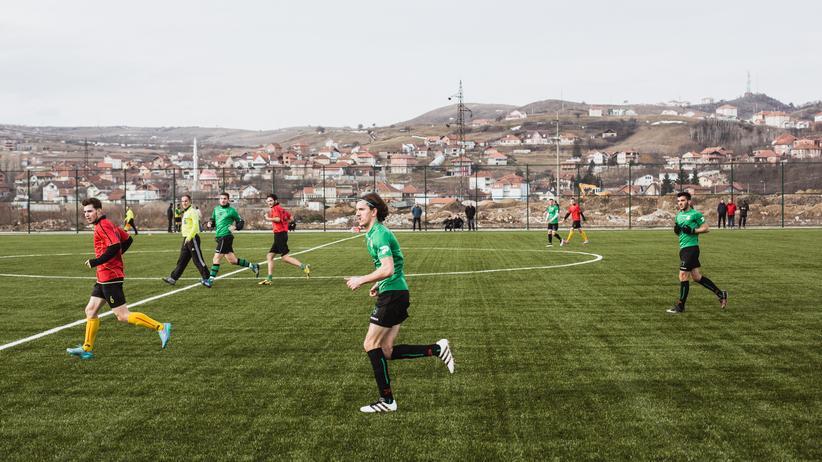 Spielszene beim KF Trepça.