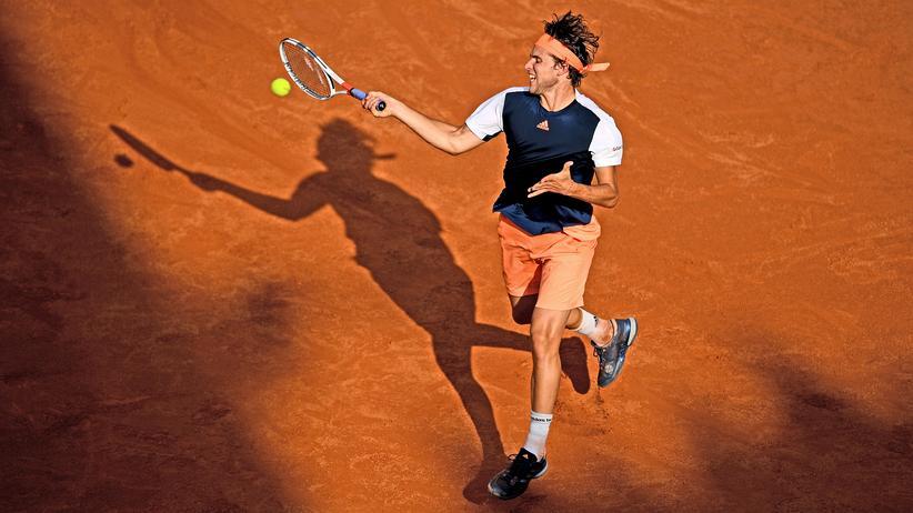 Dominic Thiem: Dominic Thiem im Viertelfinale des Mastersturniers von Rom gegen Rafael Nadal