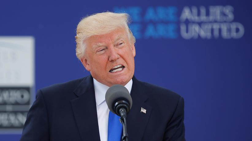 USA: Trump schimpft über deutschen Handelsüberschuss