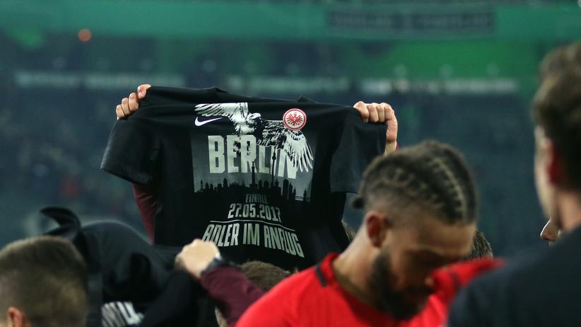 Feiert die Eintracht auch nach dem Pokalfinale?