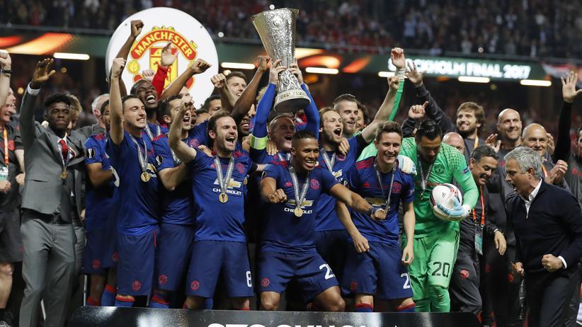 Fußball: Manchester United gewinnt Europa League