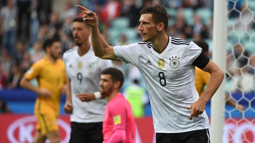 Confed Cup: Deutschland gewinnt zum Auftakt gegen Australien