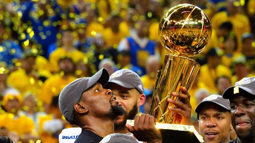 Basketball: Golden State Warriors gewinnen NBA-Finals