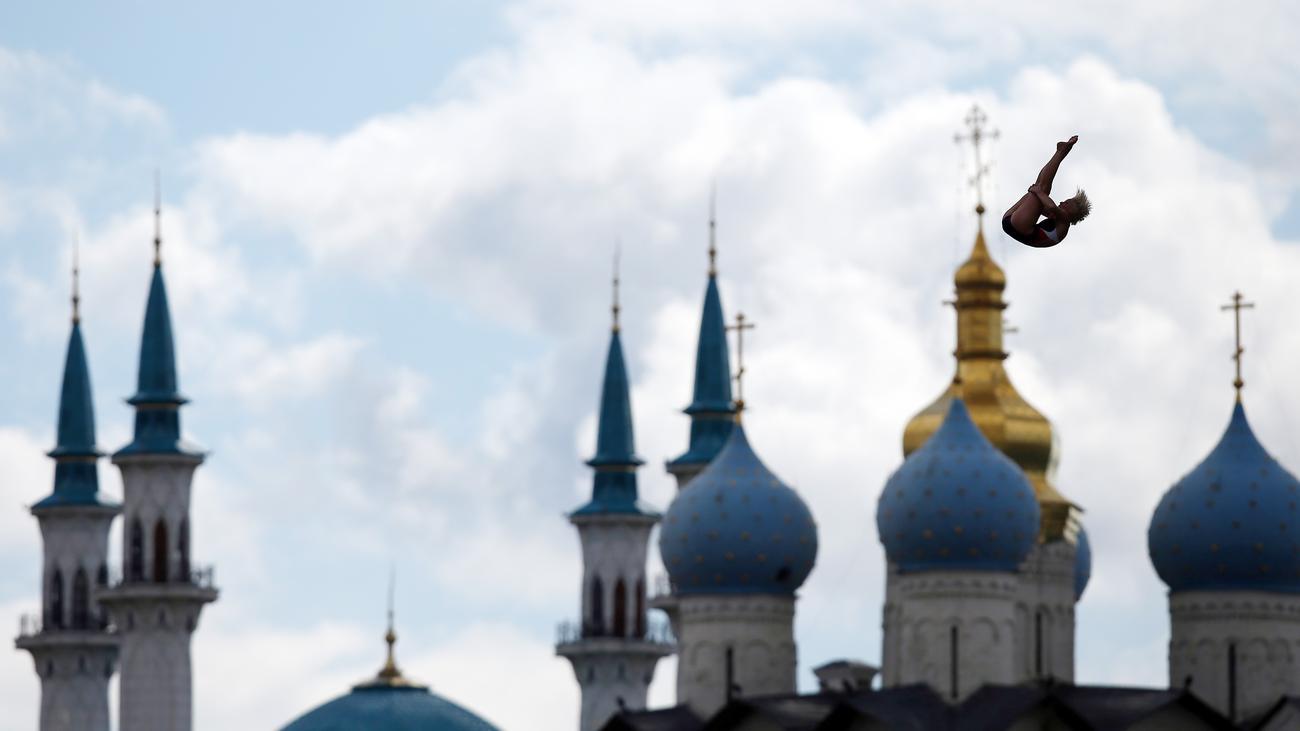 Kasan: WM beim Muezzin