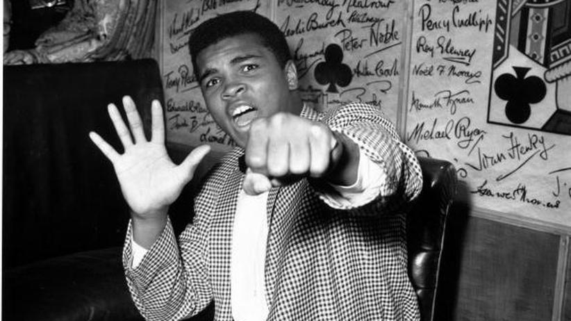Muhammad Ali, der damals noch Cassius Clay hieß, im Jahr 1963.
